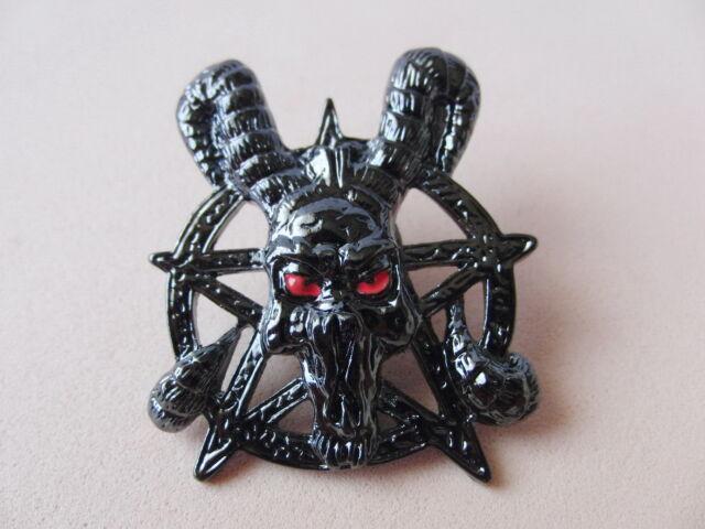 Pin SATAN Gothic Pentagramm - 68