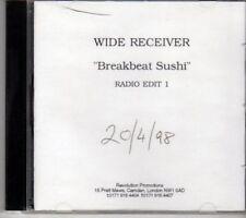 (DG535) Wide Receiver, Breakbeat Sushi - 1998 DJ CD