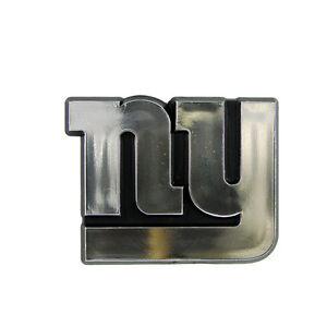 38192b58b82 NEW YORK GIANTS CAR AUTO 3-D CHROME SILVER TEAM LOGO EMBLEM NFL ...