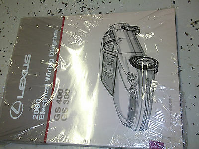 2000 Lexus GS300 GS400 400 Electrical Wiring Diagram ...