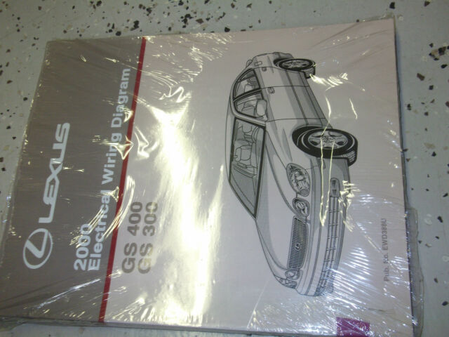 2000 Lexus Gs300 Gs400 Shop Service Repair Manual 3 0l 4 0l V8