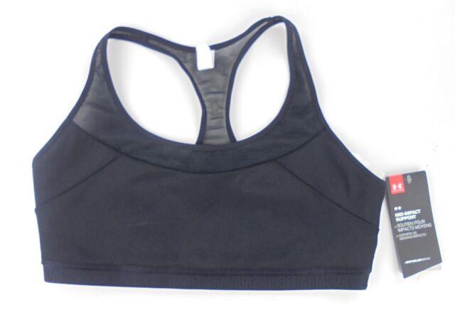Under Armour women s Armour Breathe Sports Bra black L compression 1262320  001 9c0bc82bc