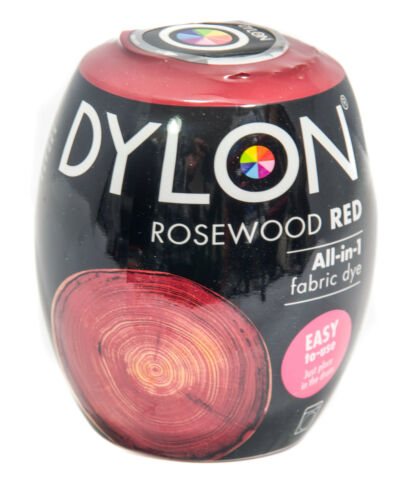 Dylon Rosewood Red Machine Dye Pods No 64 Fabric-Dye Discount for Qty