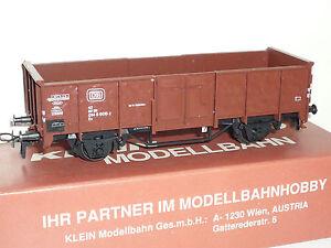Klein-Modellbahn-307R-Ruebenwagen-der-DB-OVP-Neu-X291X