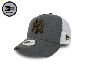 a8c14ec5a6a38 NEW ERA MLB JERSEY ESSENTIAL TRUCKER CAP NEW YORK YANKEES NY CAP ...