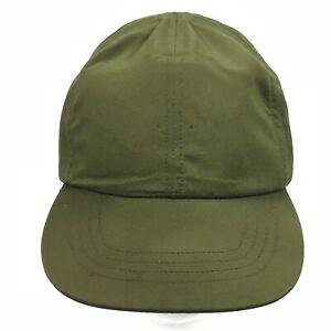 Vintage-Bancroft-ROCK-Fatigue-Cap-Olive-Green-Uniform-Small-S-Hat-Cap