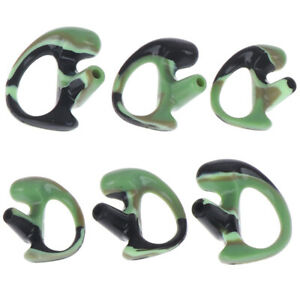 3pair-Replacement-Silicone-Ear-Buds-Earmold-for-Walkie-Talkie-Air-Acoustic-RAC