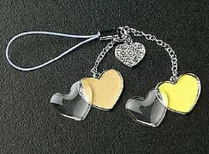 Heart-Photo-Dangle-Cell-Phone-Charm-Crystal-Mothers-Day-Gifts-Making-For-MOM-New