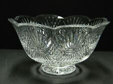 Waterford Crystal Bowl Aran Isles  10 Romance of Ireland Collection Scalloped