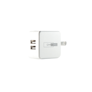 UL Listed OMNIHIL 2-Port Wall Charger+10FT-USB-A-to-C USB Cable Compatible with/Sony WF-1000XM3 in-Ear Headphones