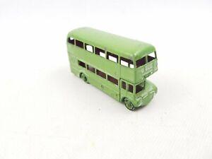 VINTAGE-Matchbox-Lesney-no-5-AEC-ROUTEMASTER-Bus-Londra-grigio-verde-verniciatura