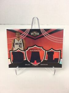 2006-07-Topps-Triple-Threads-Relics-35-Dirk-Nowitzki-Dallas-36-36-Game-Used