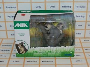 Ania KOALA BEAR with Baby Animal Figure TOMY T16050
