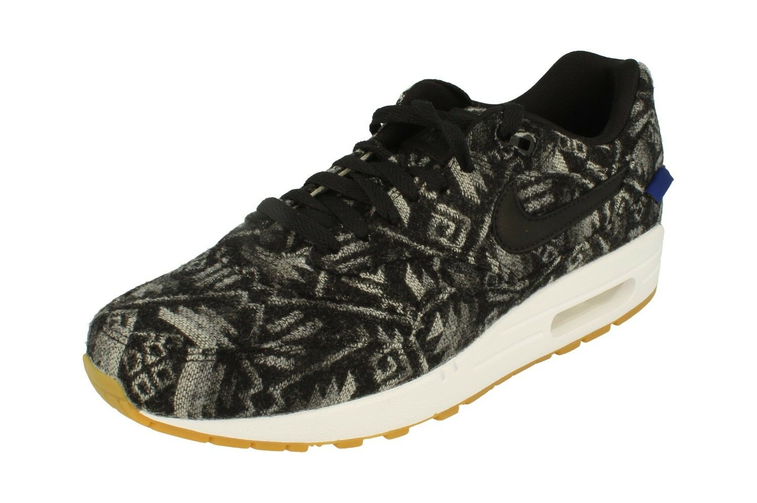 Nike Air Max 1 PRM Pendleton Mens Running Trainers 918620 Sneakers Shoes 004 The latest discount shoes for men and women