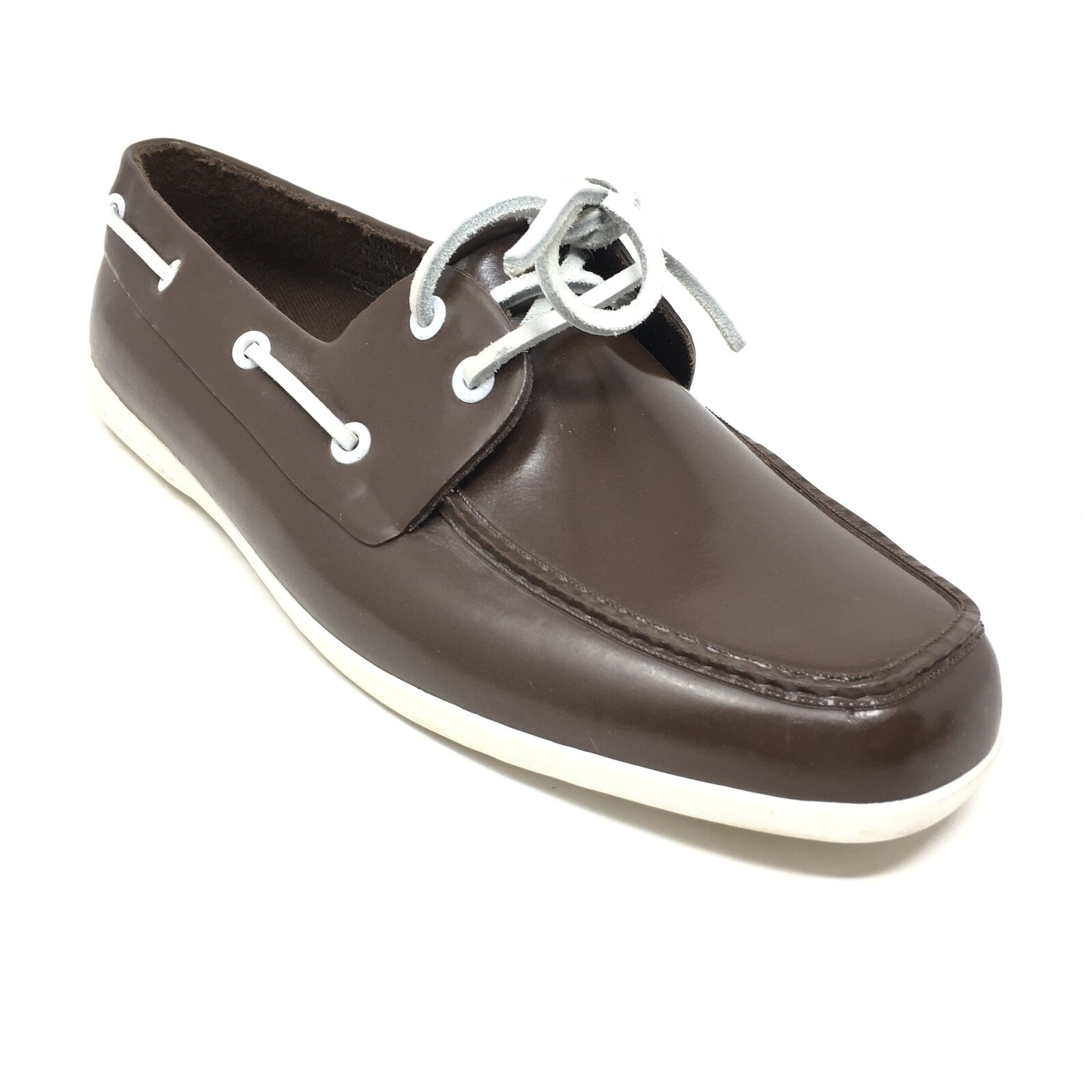 Women's Sperry Top-Sider Waterproof Boat Shoes Size 8.5 Brown Rubber Casual