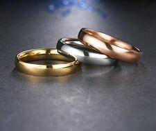 #9217 Top Quality Plain Gold Rings For Women / Men CZ Diamond Fashion Jewellery
