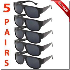 Eazy-E-Sunglasses-Gangster-All-Black-Flat-Top-OG-Style-Cholo-Style-Classic-Dark