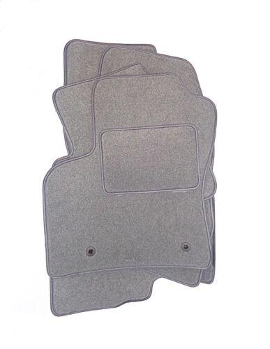 Accurata grigio chiaro velluto Tappeti auto AUDI TT 8j anno 2006-2014