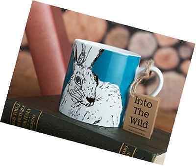 Creative Tops Into The Wild Fine China Rabbit Coffee Tea Hot Cold Mug 330 ml