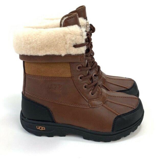 Ugg Butte II Leather Wool Upper Lining