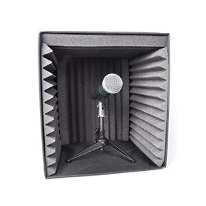 PSIB27 Sound Recording Booth Box, Studio Soundproofing Foam Shield Isolation