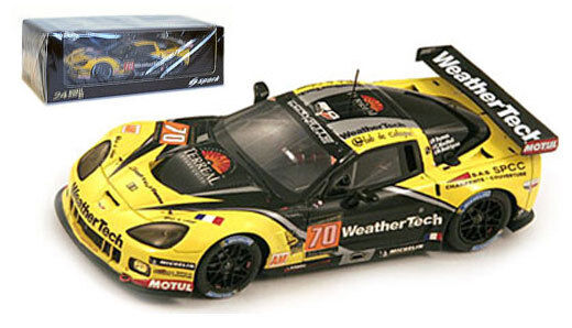 Spark s3777 Corvette C6r Zr1 Zr1 Zr1   70' Larbre competencia  Le Mans 2013 - 1 43 Escala df06da