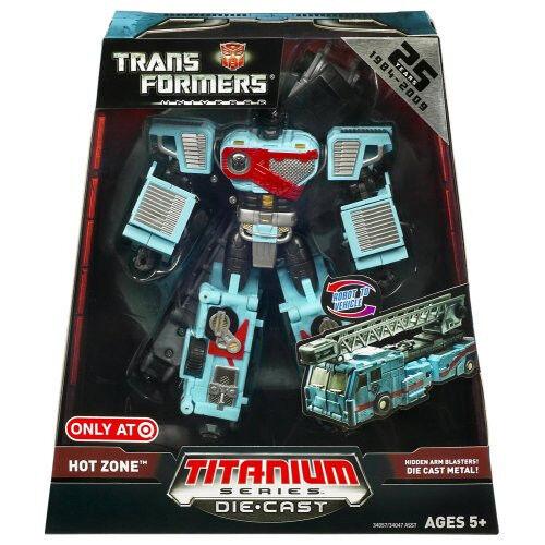Transformers Titanium HotZone Hot Zone Hot Spot HotSpot NEW MIB