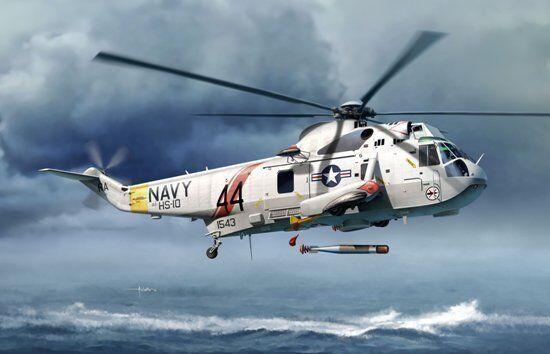 Dragon 5114 1 72 SH-3G Sea King, Submarine Hunter