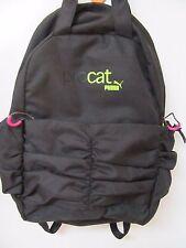 Puma Procat School Black Pink Lime Backpack Book bag with Laptop Sleeve Nice