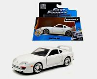 Jada Toys 1/32 Brian's Toyota Supra White Color Fast And Furious 7 Diecast Car..