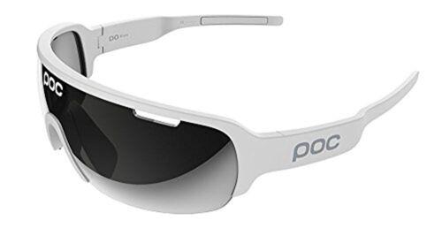 POC hacer media hoja Ciclismo Gafas de sol plata de hidrógeno Blanco Con Violeta de la lente