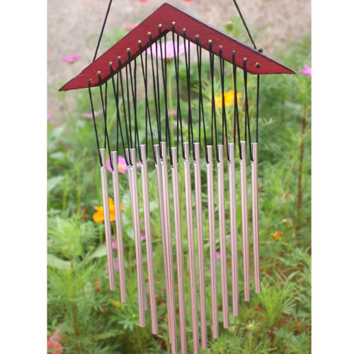 Tubes Wind Chimes Windchime Chapel Church Bells Home Yard Garden Hanging Decor