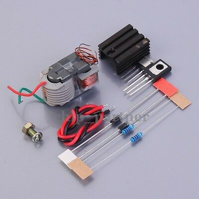 High Voltage Generator Step-up Inverter Arc Cigarette Igniter Coil Module 15KV