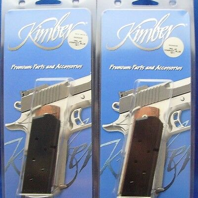 Black 1000089A Kimber 1911 Full Size .45 ACP 8 Round OEM Pistol Magazine