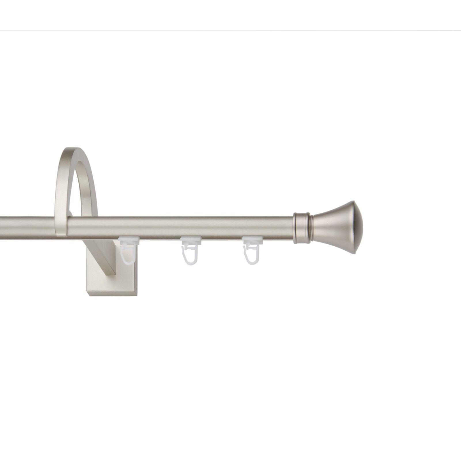 Innenlauf 19mm 19mm 19mm mit außergewöhnlicher Halterung(Chrom-Matt),1 2-Läuf, 120-600cm, | Niedrige Kosten  | Hohe Qualität Und Geringen Overhead  5349c9