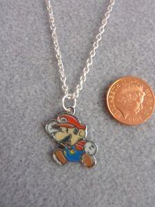 Super-Mario-Bros-Esmalte-Encanto-Colgante-Collar-Cadena-Regalo-de-Cumpleanos-16-034-261