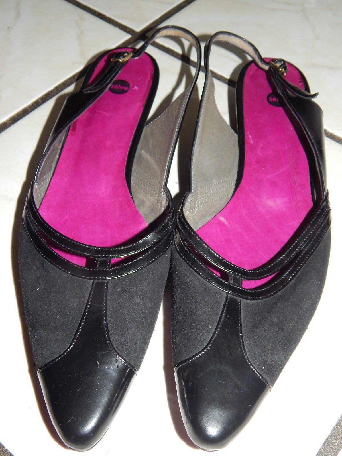 SELVE Loafers Mokassins Handmade Halbschuhe Ballerinas Handmade Mokassins Gr. 41   Echt Leder (5) be48fe