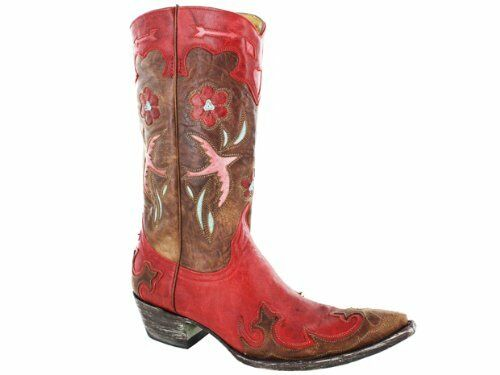 Old Old Old Gringo Women's Golondrita  179-13  Red Boots 95d624