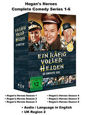 Hogan's Heroes Complete Comedy Series 1-6 Season 1 2 3 4 5 6 BoxSet 26 DVD R2 UK