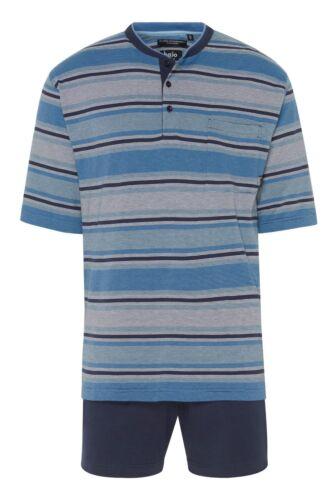 hajo Herren Schlafanzug Pyjama Shorty Baumwolle Seide 53103 699