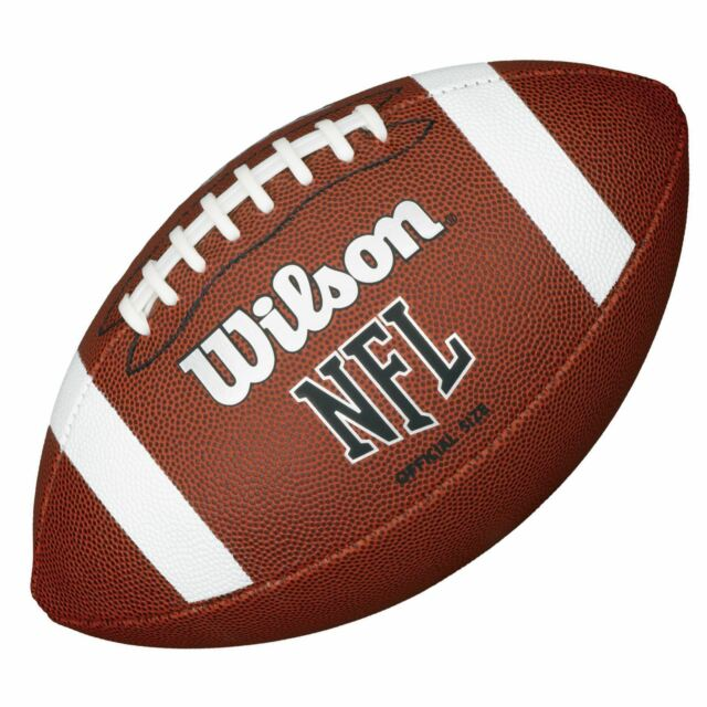 a829a7f0d38 Wilson TDS NFL Official Size 9 Rubber Cover American Sports Football Wtf1858