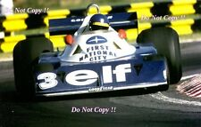 Ronnie Peterson Tyrell P34 Argentine Grand Prix 1977 Photograph 2