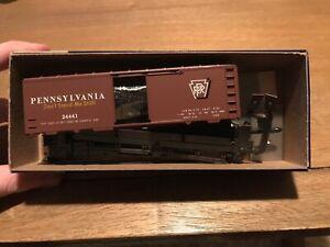 Pennsylvania-Railroad-Roundhouse-HO-Scale-PRR-40-039-Boxcar-24441-Kit