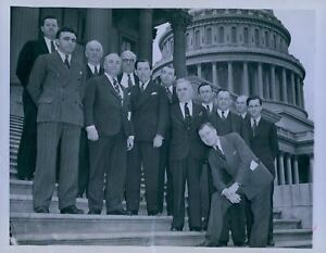 1939 Congressional Sponsors National Aviation Day Press Photo