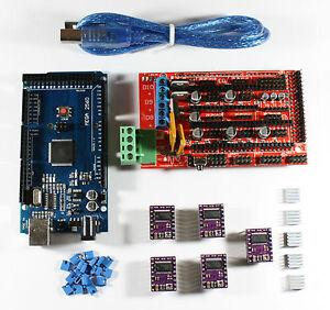 RAMPS-1-4-Set-Kit-f-RepRap-3D-Drucker-Mega-2560-5x-DRV8825-USB-Kabel-Arduino