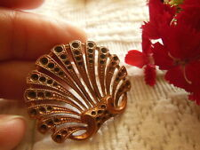 superbe ancien ornement en cuivre année 50 création bijoux restauration....
