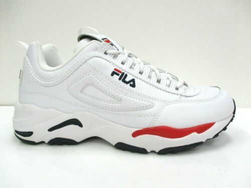 Fila Disruptor II X Ray Tracer Men/'s White//Red//Navy SN 1FM00660-125 New