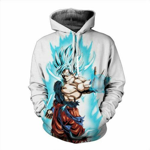 Women//Men Dragon Ball Z Goku Vegeta Saiyan 3D Print Casual Hoodie Sweatshirt 5XL