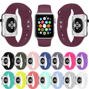 Silicone-Replacement-Strap-Sports-Band-Belt-for-Apple-Watch-Bracelet-38MM-42MM