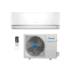 Climatiseur inverter airwell hkd 12000 btu classe a ebay for Climatiseur fenetre silencieux